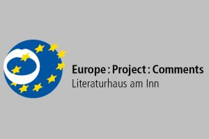 Logo des Projekts Europe:Project:Comments im Literaturhaus am Inn